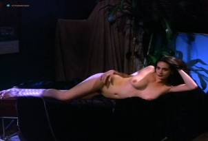 Debra K. Beatty nude full frontal Shayna Lee, Rebecca Taylor nude too – Cyberella: Forbidden Passions (1996)