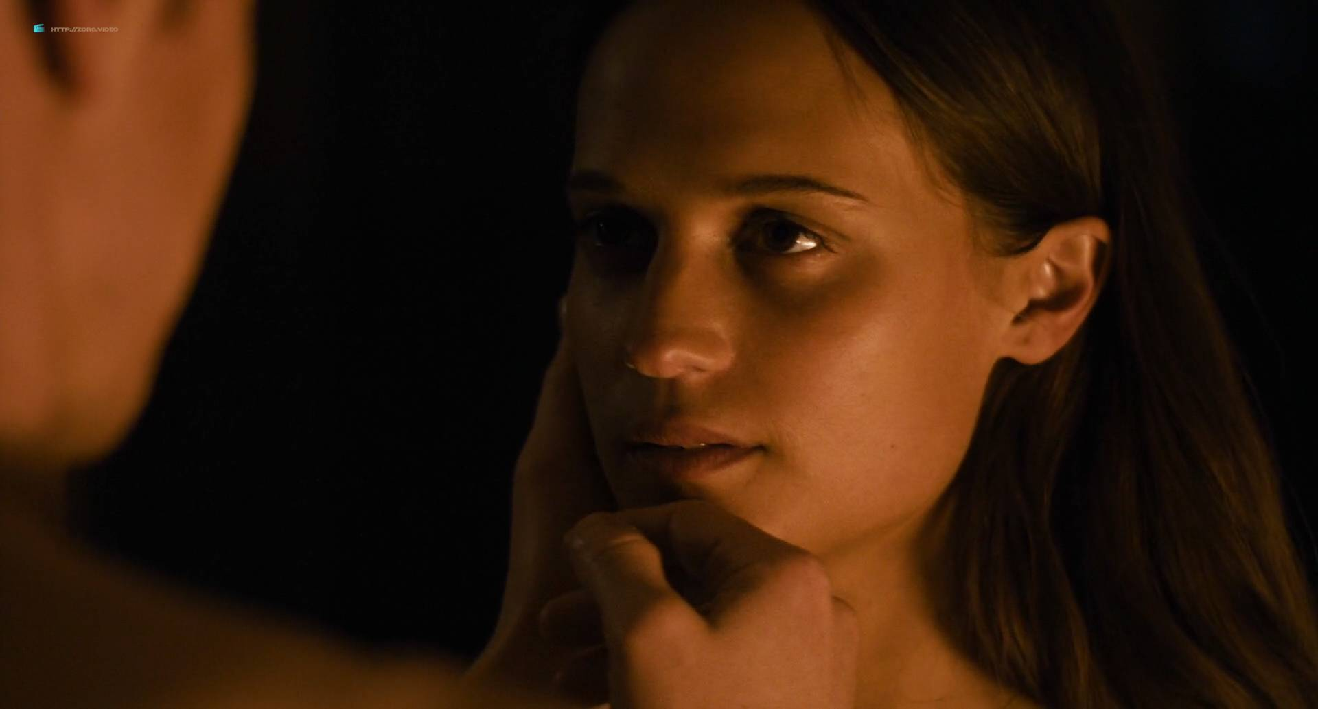 Alicia Vikander hot bikini and side boob - Submergence (2018) HD 1080p WEB (3)