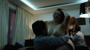 Claire Rammelkamp nude topless others nude too - The Looming Tower (2018) s01e09 HD 1080p Web (8)