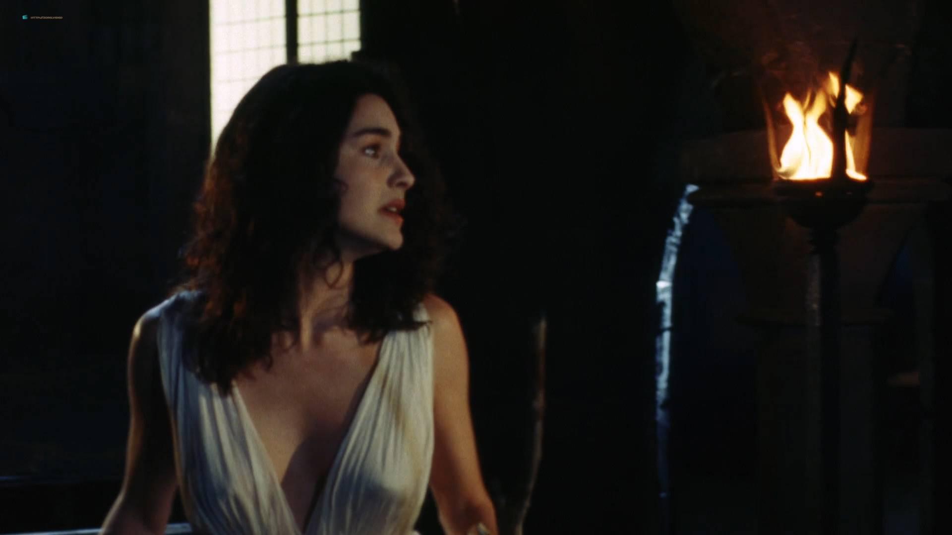 Denice Duff nude bush in the shower Melanie Shatner nude boobs - Bloodstone: Subspecies II (1993) HD 1080p BluRay (15)