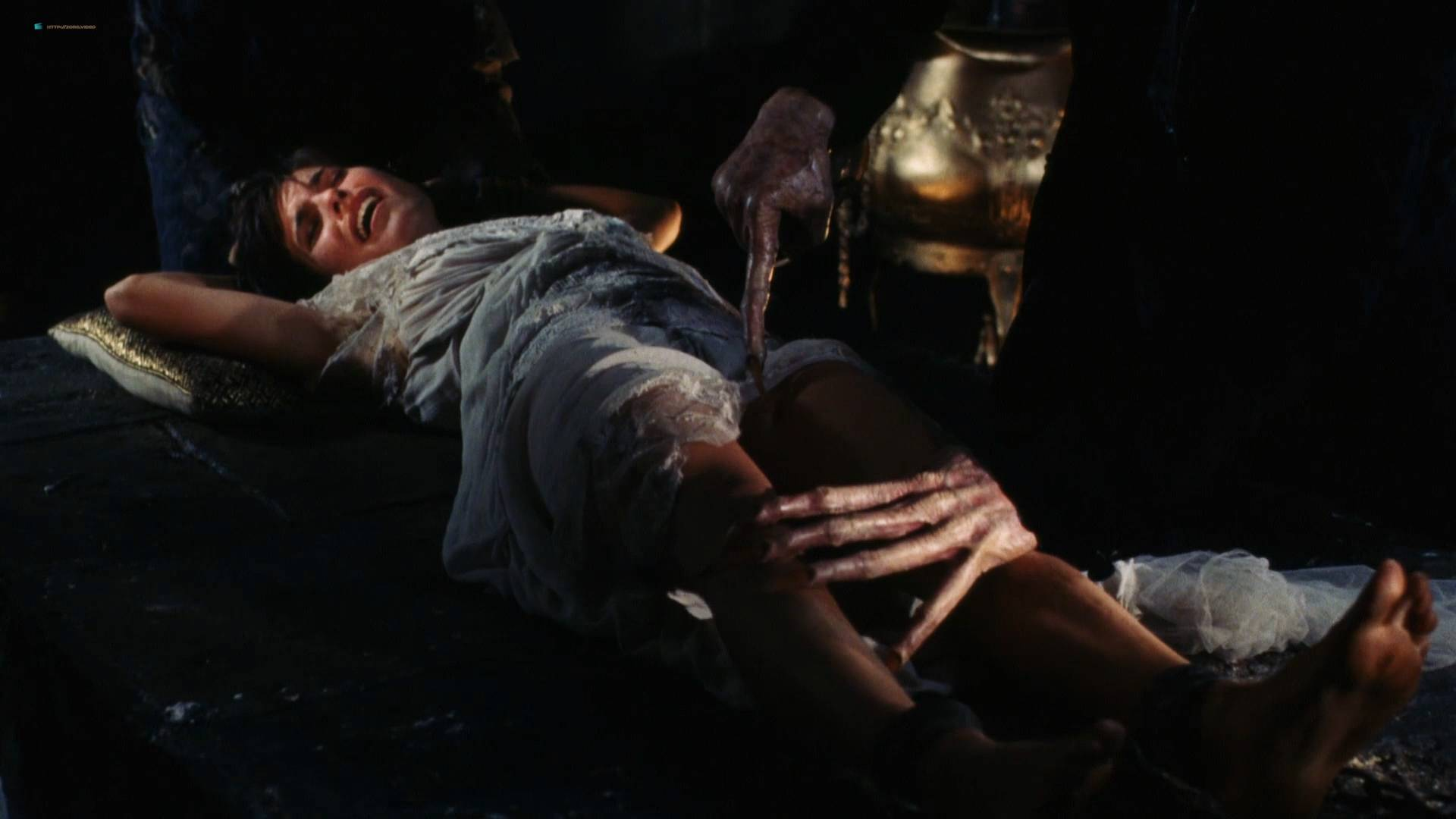 Denice Duff nude bush in the shower Melanie Shatner nude boobs - Bloodstone: Subspecies II (1993) HD 1080p BluRay (2)