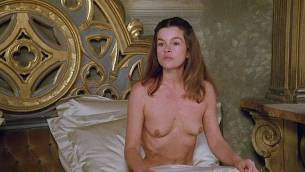 Geneviève Bujold nude topless Pamela Prati and others nude too - Monsignor (1982) (6)