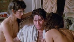 Geneviève Bujold nude topless Pamela Prati and others nude too - Monsignor (1982) (5)