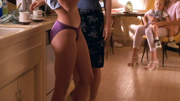 Jennifer Love Hewitt hot cleavage and Amy Brenneman sexy - The Suburbans (1999) HD 1080p Web (7)
