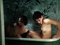 Meredith Snaider nude bush and hot sex - Habit (1997) HD 1080p BluRay (6)