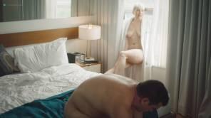 Natalie Joy Johnson bush sex threesome near explicit Alex Auder bush Nyseli Vega boobs - High Maintenance (2018) S2 HD 1080p (20)