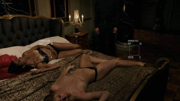 Amanda Seyfried nude topless and sex Jordan Claire Robbins and others nude sex too - Anon (2018) HD 1080p Web (12)
