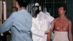 Leesa Rowland nude topless Trinity Loren and others nude too - Class of Nuke 'Em High Part II (1991) HD 720p (9)