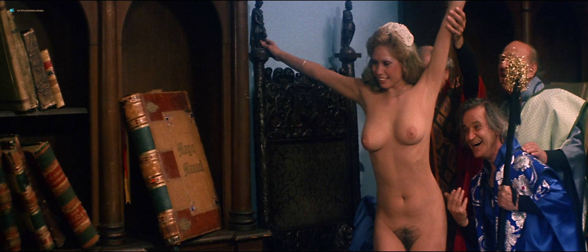 Linnea Quigley nude bush Angela Aames nude full frontal others nude - Fairy Tales (1978) HD 1080p (13)