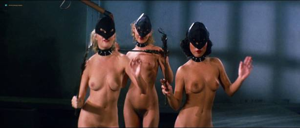 Linnea Quigley nude bush Angela Aames nude full frontal others nude - Fairy Tales (1978) HD 1080p (5)