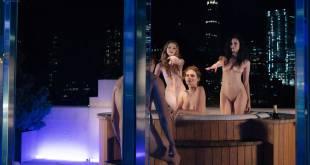 Maggie Siff sexy Valéry Lessard, Anna Tyson, Katelyn Pearce, Marion Dunn all nude - Billions (2018) s3e7 HD 1080p (6)