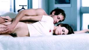 Marie-Josée Croze nude bush topless and hot sex - Maelström (2000) (5)