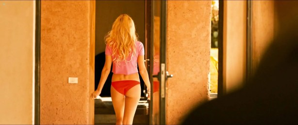 Matilda Anna Ingrid Lutz nude butt, boobs and sex- Revenge (2017) HD 1080p Web (9)