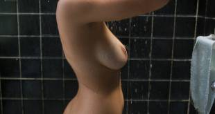 Paulina Gaitan nude topless in the shower - Diablo Guardián (MX-2018) s1e1 HD 1080p (3)