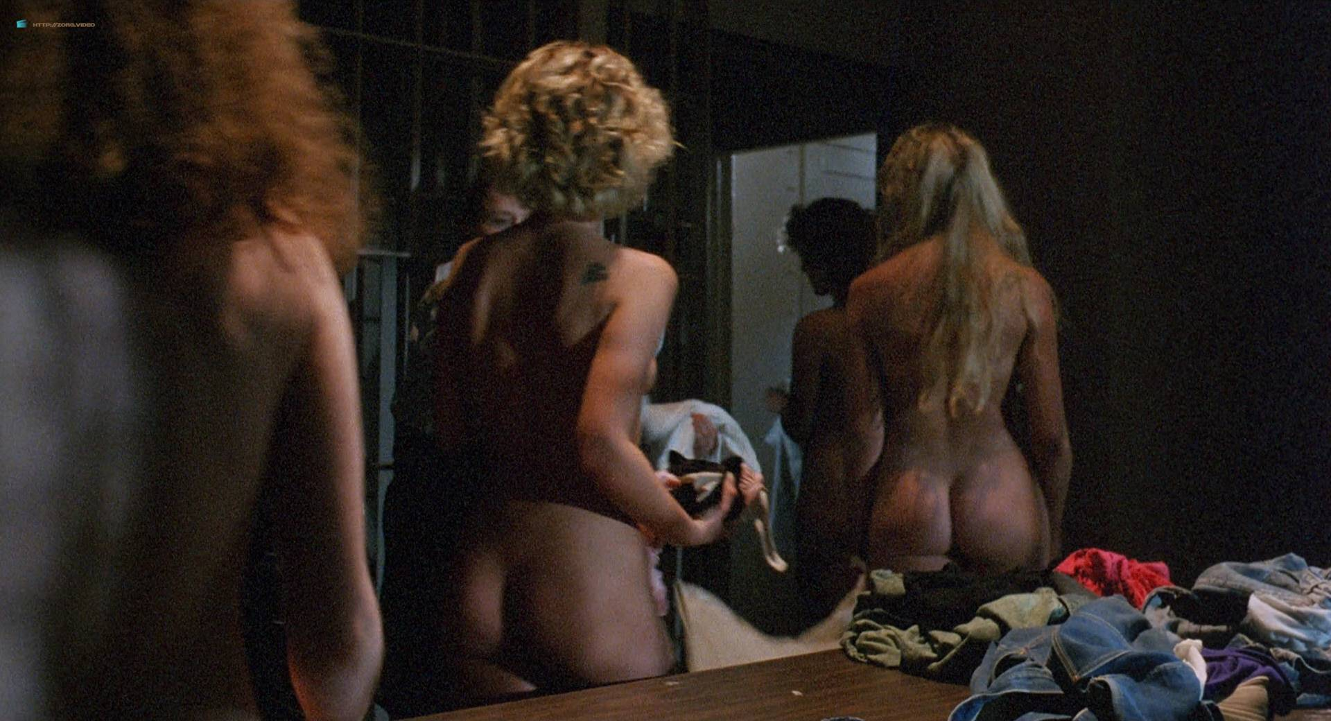Roxanna Michaels nude Tiffany Million and others nude bush butt - Caged Fury (1989) HD 1080p BluRay (7)