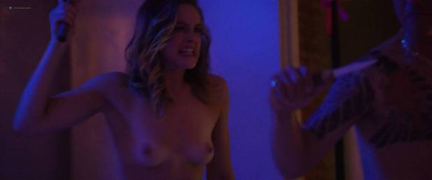 Stephanie Van Dyck nude topless others nude too - The Dark (2018) HD 1080p Web (7)