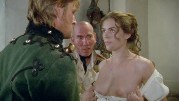 Elizabeth Hurley nude brief topless - Sharpe's Enemy (1994) HD 720p (8)