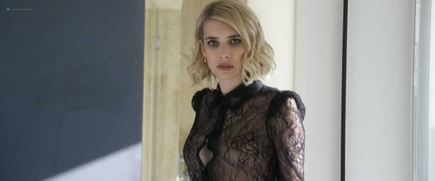 Emma Roberts hot see through Suki Waterhouse sexy - Billionaire Boys Club (2018) HD 1080p Web (2)