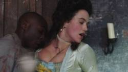 Jessica Brown Findlay hot sex and Holli Dempsey sex too – Harlots (2017) s2e3 HD 1080p (4)