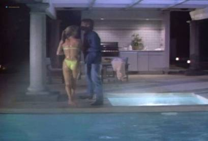 Nicollette Sheridan hot and sexy in bikini and some sex - Deceptions (1990) (2)