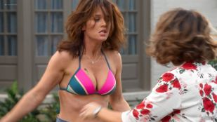 Debby Ryan hot and sexy Robin Tunney, Alyssa Milano and others sexy - Insatiable (2018) s1e-1-3 HD 1080p Web