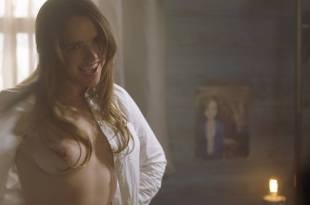 Jacqueline Byers nude topless and Kerry Condon nude side boob - Bad Samaritan (2018) HD 1080p BluRay