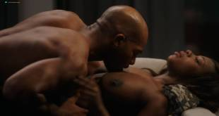 Naturi Naughton nude topless in sex scene Lela Loren nude boobs - Power (2018) s5e7 HD 1080p (9)