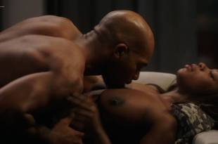 Naturi Naughton nude topless in sex scene Lela Loren nude boobs – Power (2018) s5e7 HD 1080p