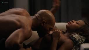 Naturi Naughton nude topless in sex scene Lela Loren nude boobs - Power (2018) s5e7 HD 1080p (8)