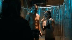 Rachel Bilson hot sexy and wet in undies and bra - Take Two (2018) s1e7 HDTV 720p (3)
