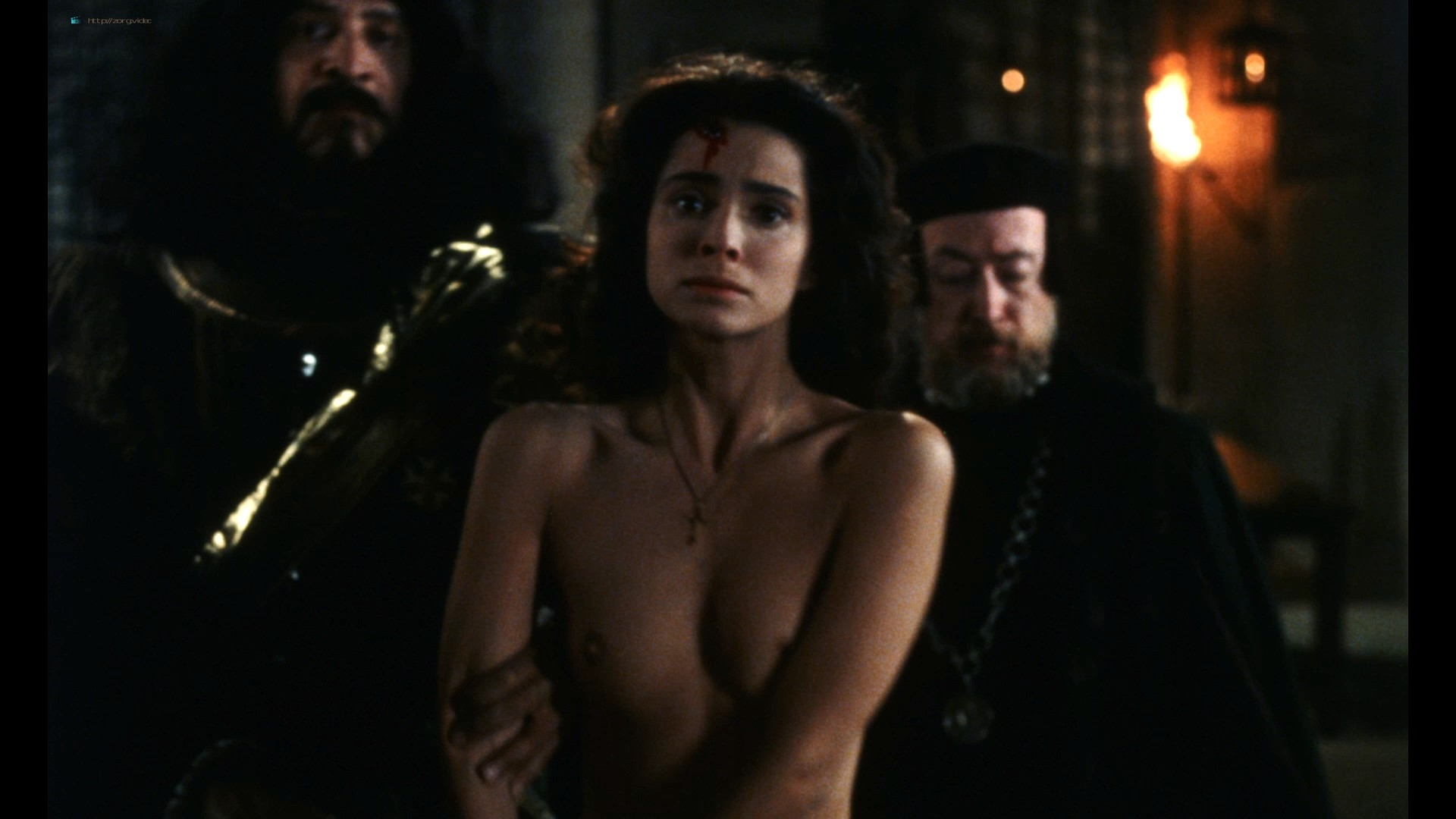 Rona De Ricci nude full frontal - The Pit and the Pendulum (1990) HD 1080p BluRay (r) (3)