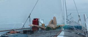 Shailene Woodley nude brief topless, wet and hot- Adrift (2018) HD 1080p Web
