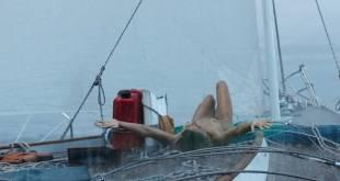 Shailene Woodley nude brief topless, wet and hot- Adrift (2018) HD 1080p Web (6)