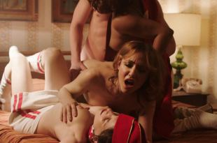 Anjelica Bosboom nude threesome with Erika Smith, Maggie Gyllenhaal, Emily Meade hot – The Deuce (2018) s2e3 HD 1080p