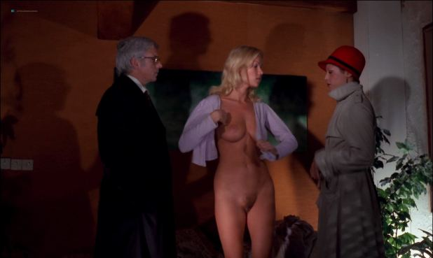 Brigitte Lahaie nude full frontal Dominique Journet, Cathy Stewart all nude and sex - The Night of the Hunted (FR-1980) HD 1080p (12)