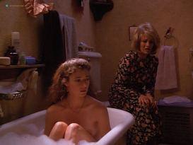 Mia Sara nude nip slip - The Maddening (1995)