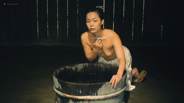 Miho Wakabayashi nude topless and sex Reina Yukara, Tomoko Harazaki, and others nude too - Suffering of Ninko (JP-2016) HD 1080p (10)