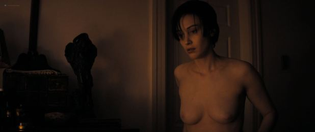 Sarah Gadon nude topless and bush - Octavio Is Dead (2018) HD 1080p Web (6)
