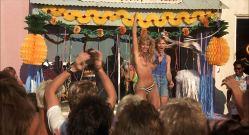 Bobbi Pavis nude topless Barbara Horan, Jeana Loring and others nude too - The Malibu Bikini Shop (1985) HD 1080p (7)