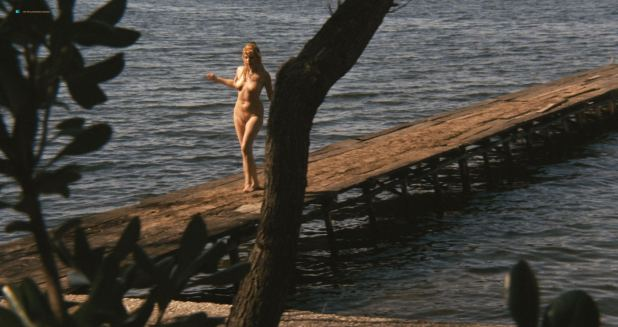 Brigitte Skay nude full frontal skinny dipping  - A Bay of Blood (IT-1971) HD 1080p BluRay (2)