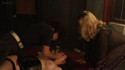 Emily Meade nude blow job, Margarita Levieva and Adelind Horan sexy - The Deuce (2018) s2e4 HD 1080p (16)