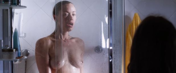 Kristanna Loken nude topless and hot lesbian sex with Sarai Givaty - Body of Deceit (2015) HD 1080p Web (3)