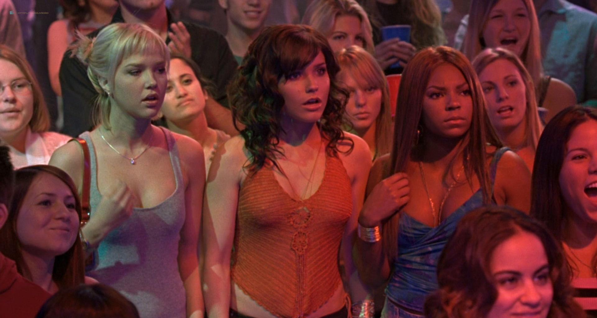 Brittany Snow hot in lingerie Sophia Bush, Arielle Kebbel, Ashanti hot and sexy - John Tucker Must Die (2006) HD 1080p (7)