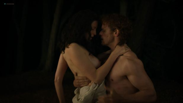 Caitriona Balfe nude topless and sex – Outlander (2018) s4e1 HD 1080p (3)