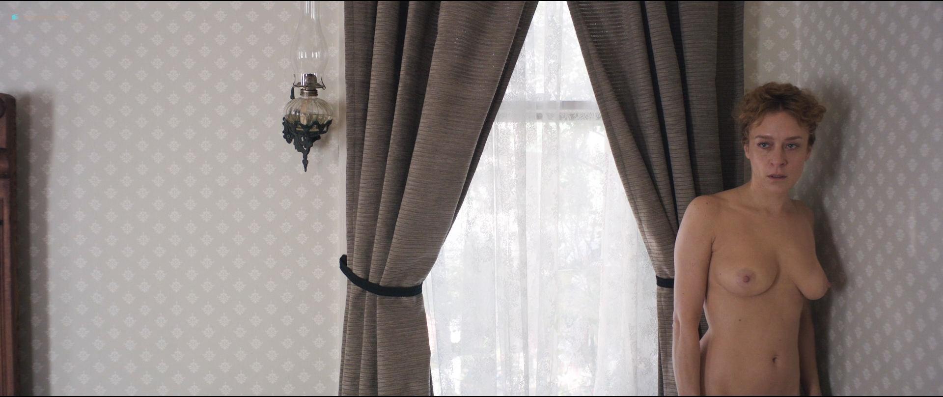Kristen Stewart nude topless Chloe Sevigny nude topless and butt - Lizzie (2018) HD1080p BluRay (18)