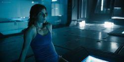 Natalia Tena nude sideboob in the shower - Origin s01e10 (2018) HD 1080p (7)