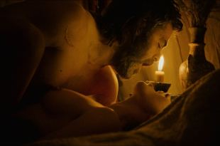 Florence Pugh nude topless and sex - Outlaw King (2018) HD 1080p Web (3)