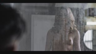 Aliette Opheim nude topless and butt in the shower - Fortitude (2018) s3e4 HDTV 1080p