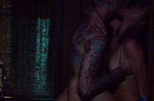 Rosa Salazar nude brief topless and sex – Bird Box (2018) HD 1080p