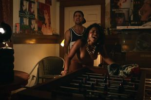 Vivian Lamolli nude topless and sex doggy style – Bodied (2017) HD 1080p Web